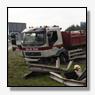 Vrachtwagen schiet door middenberm A2 [+foto]