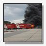 Vrachtwagen volledig uitgebrand bij Wagenborg Reining [+foto's & video]