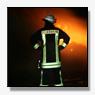 Nederlandse vrachtwagen in de brand gevlogen op Duitse A40[+foto's]