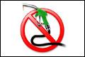 Staking bij Italiaanse benzinepompen