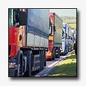 Boze Griekse chauffeurs blokkeren grensovergangen