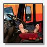 Inbreker slapend aangetroffen in vrachtauto