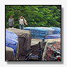 Indonesische truckers al meer dan week vast in file
