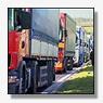 Franse vrachtwagenchauffeurs voeren actie tegen vut-plannen