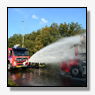 Vrachtwagen uitgebrand in Tilburg [+foto]
