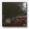 Grote brand in opslagloods Sint Nicolaasga [+foto]