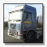 Vrachtwagen met oplegger gestolen van Intercam Export BV [+foto's]