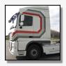 Gestolen vrachtwagen van Int. Transportbedrijf Piet Binnendijk terecht [+foto]