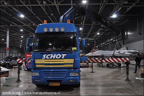 Schot verticaal transport