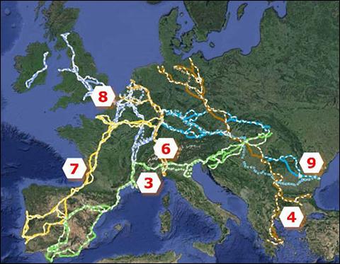 Transport online transportnieuws transport online panteia tekent voor ontwerp van zes - Corridor ontwikkeling ...
