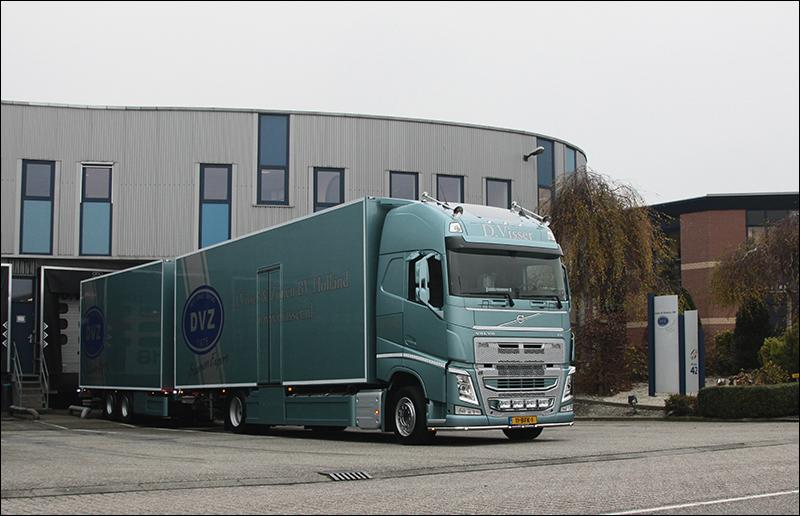 Verwonderend Transport Online - Nieuwe Volvo FH voor D. Visser en Zonen VJ-91