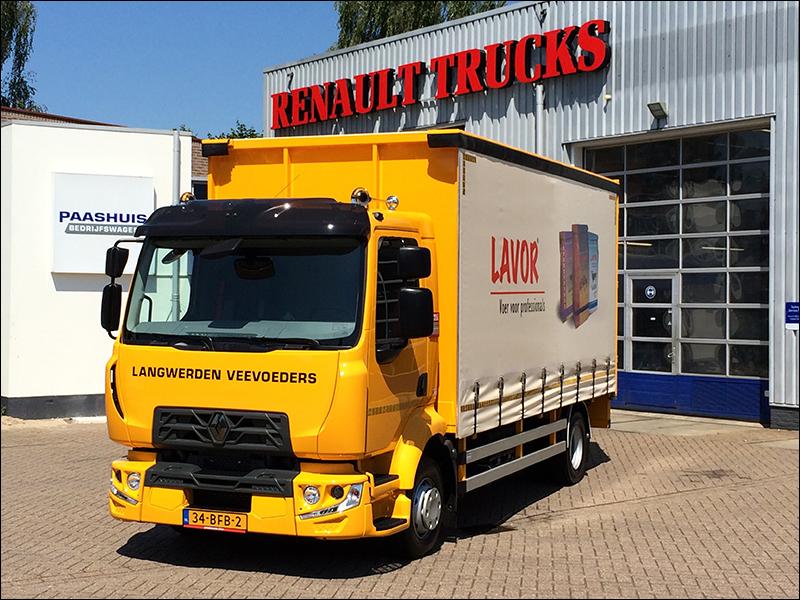 transport online transportnieuws transport online nieuwe renault trucks d voor langwerden. Black Bedroom Furniture Sets. Home Design Ideas
