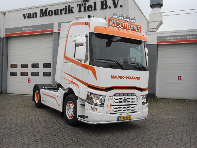 transport online transportnieuws transport online renault trucks t voor wico trans. Black Bedroom Furniture Sets. Home Design Ideas