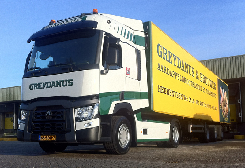 transport online transportnieuws transport online renault trucks t430 voor greydanus. Black Bedroom Furniture Sets. Home Design Ideas