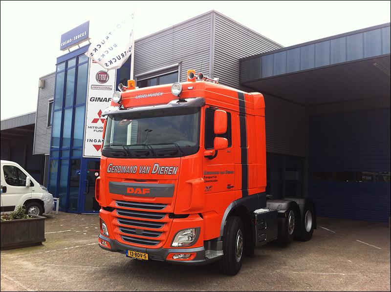 Geliefde Transport Online   Transportnieuws   Transport Online - Nieuwe Daf  LQ51