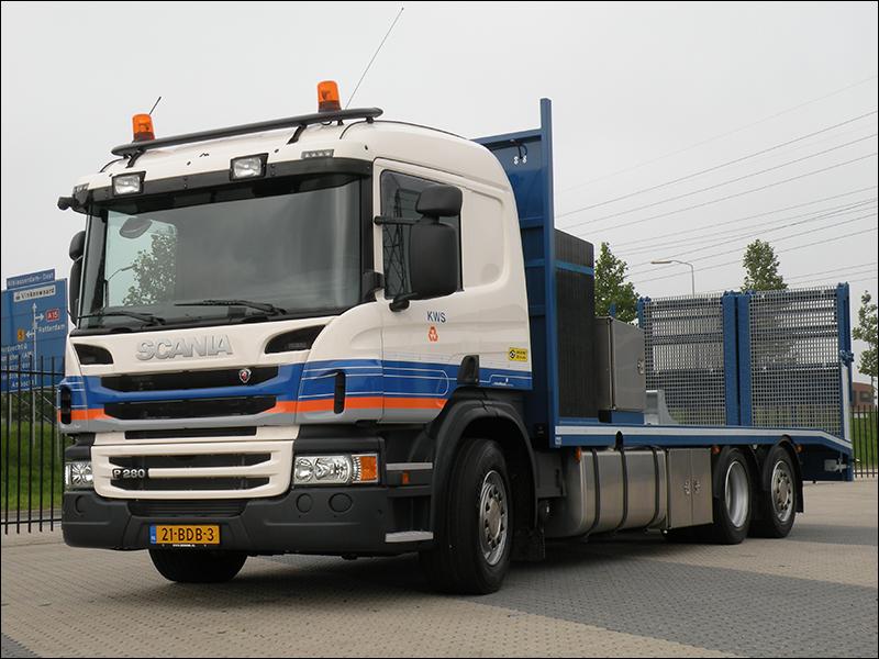 Verwonderend Transport Online - Vijf nieuwe Scania's voor Volker Stevin JM-73