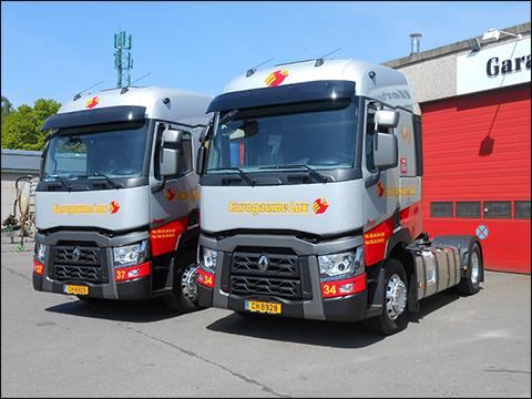 transport online transportnieuws transport online zes renault trucks voor eurogaume. Black Bedroom Furniture Sets. Home Design Ideas