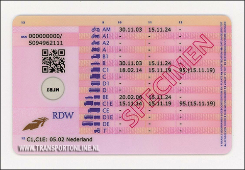 Transport Online - RDW introduceert nieuw model rijbewijs