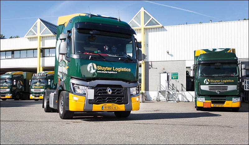 transport online transportnieuws transport online 18 renault trucks voor sluyter logistics. Black Bedroom Furniture Sets. Home Design Ideas