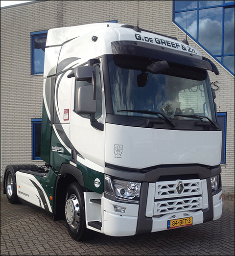 transport online transportnieuws transport online renault trucks t drive 4x2 voor de greef. Black Bedroom Furniture Sets. Home Design Ideas