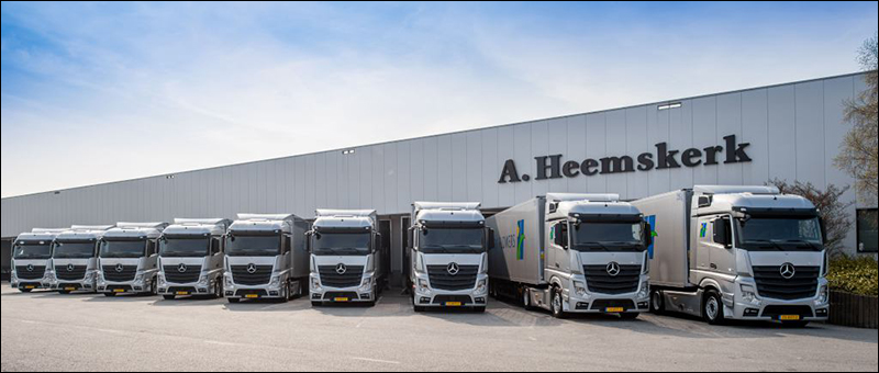 Transport online transportnieuws transport online for Mike schmitz mercedes benz dealership