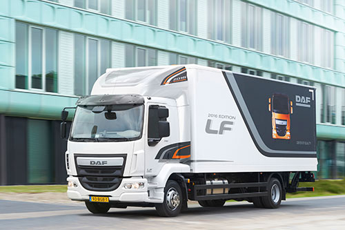 DAF introduceert LF 2016 Edition