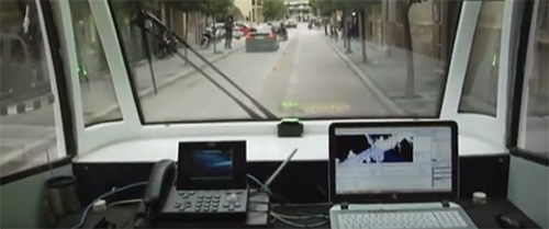 Experiment zelfrijdende bus in Griekse Trikala (+video)