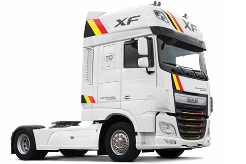 DAF Trucks België introduceert DAF FT XF 460 Super Space Cab - Anniversary Edition