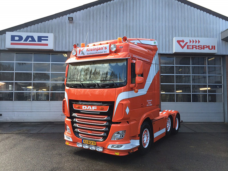 Transport online transportnieuws transport online for Garage daf massy