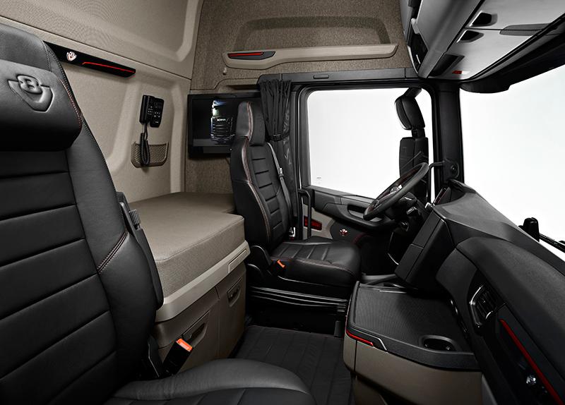 Transport online transportnieuws transport online de for Interieur camion scania