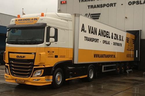 Transport Online - Nieuwe Daf FT XF 460 voor A. van Andel ...