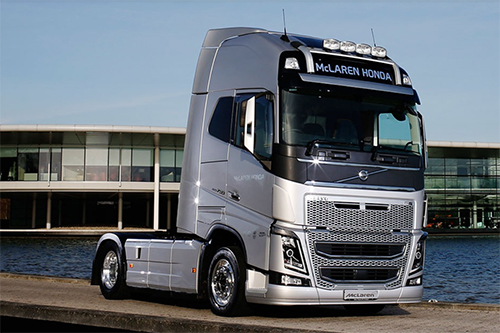 Volvo Trucks becomes official supplier to the McLaren-Honda Formula 1 team