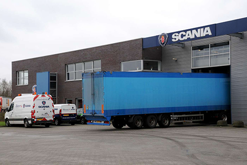 Garage Rinsma servicepartner Knapen trailers