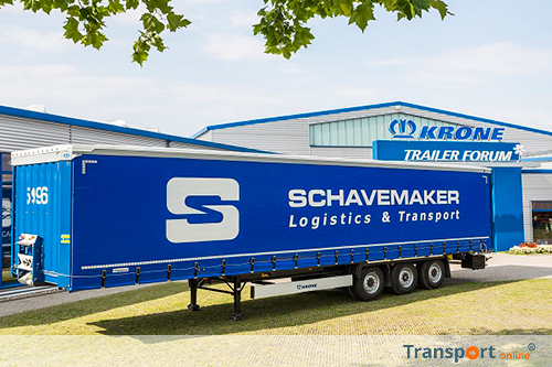 25 krone anti slash curtainside trailers voor Schavemaker International