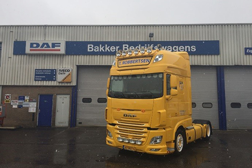 DAF FT XF-440 SSC Low Deck voor Robbertsen Transport