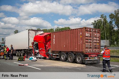 Ongeval vrachtwagen duitsland vandaag