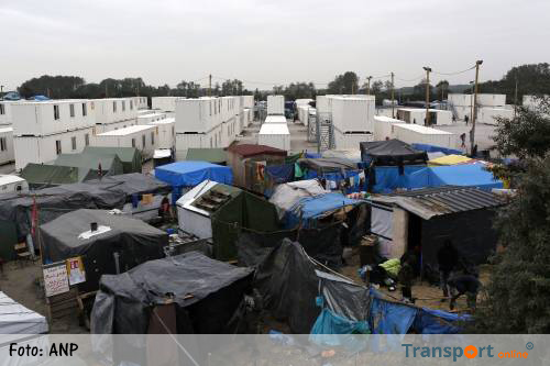 Ontruiming 'jungle' Calais maandag van start