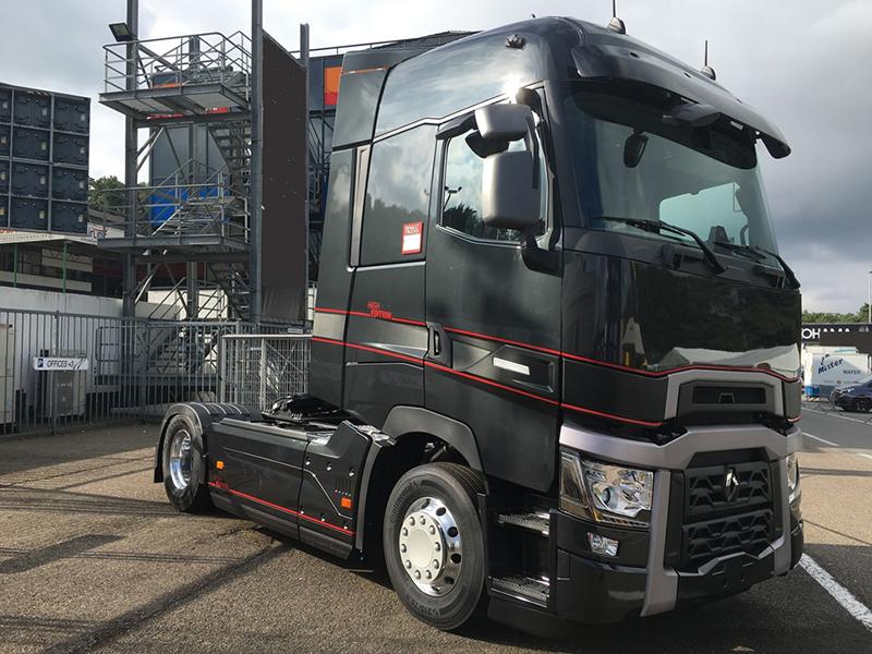 transport online transportnieuws transport online renault trucks lanceert high edition. Black Bedroom Furniture Sets. Home Design Ideas