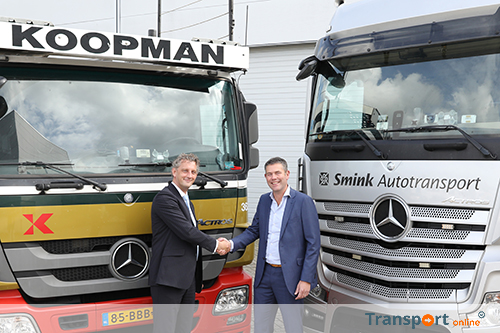 Koopman Logistics Group neemt per direct Smink Transport over