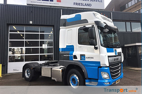 New DAF CF 450 voor Lootsma Tanktransport