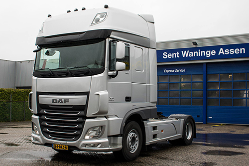 Sent Waninge Used Truck Center van start in Assen