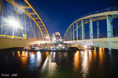 Vertraging voor plaatsing spoorbrug Utrecht