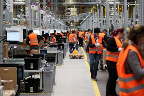Staking bij Amazon in Duitsland
