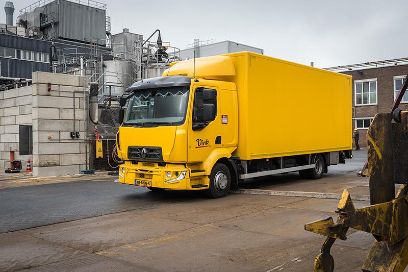 transport online transportnieuws transport online renault trucks d voor vink. Black Bedroom Furniture Sets. Home Design Ideas