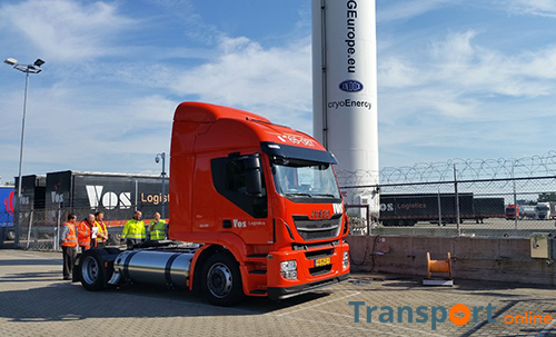 Vos Logistics vergroot aantal LNG trucks in internationaal mega trailernetwerk