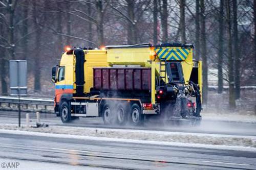 Transport Online - Rijkswaterstaat strooit veel meer zout