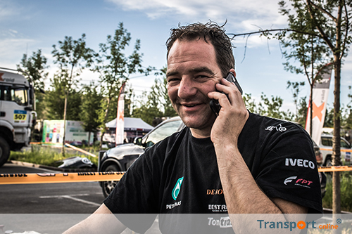 Ton van Genugten leert veel in Silk Way Rally