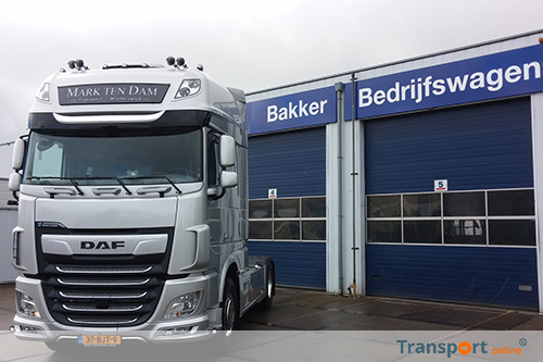 Nieuwe DAF 'First Edition' voor Mark ten Dam Transport
