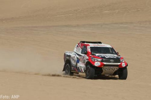 Bernhard ten Brinke tweede in zware etappe Dakar Rally