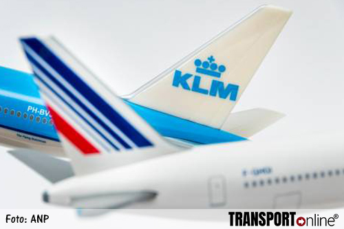 KLM groeit sterker dan Air France